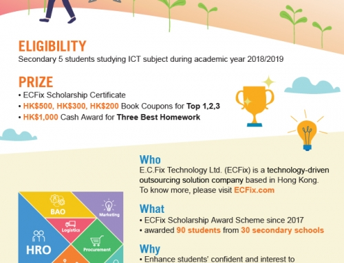 ECFix Scholarship Award Scheme – ICT (2018/2019) is Open for Application